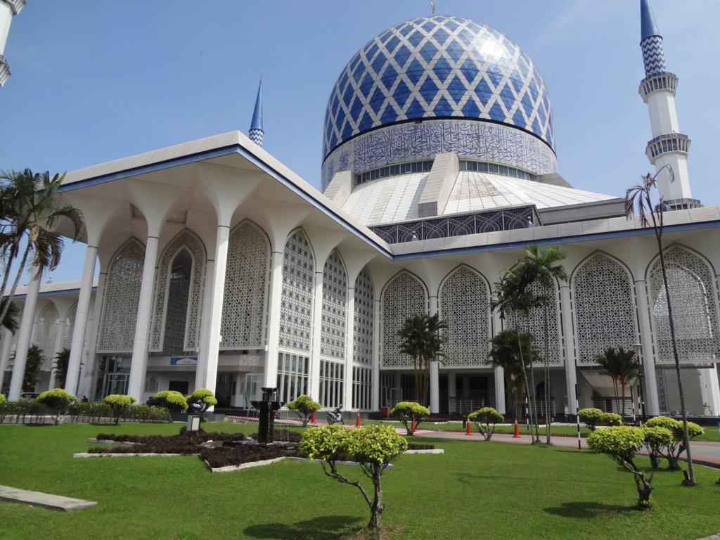 マレーシア:ブルーモスク