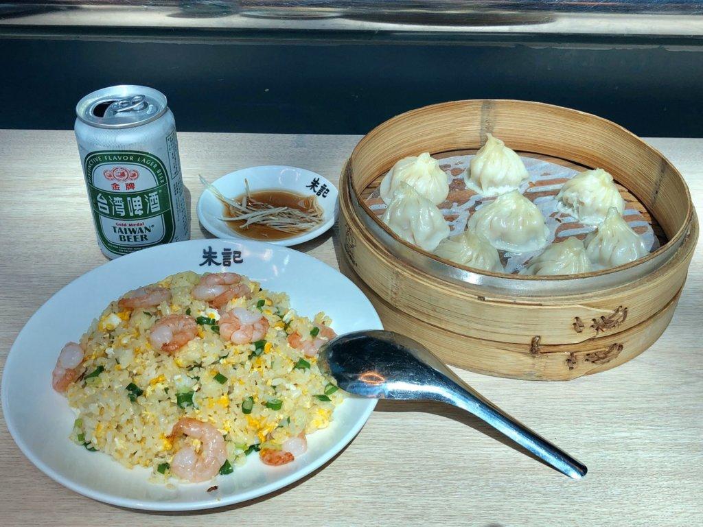 小籠包と台湾ビール
